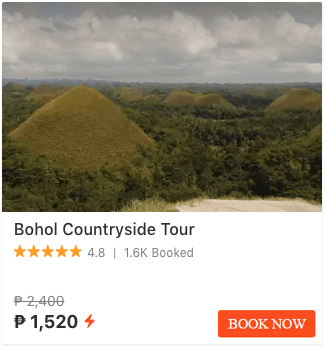 Bohol Klook Promotions