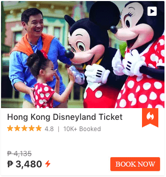 Hong Kong Disneyland Klook Promotions