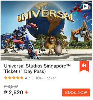 Universal Studio Singapore Klook Promotions