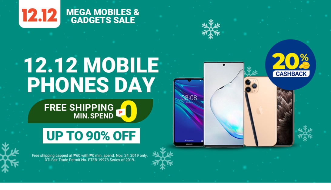 Shopee 12.12 Mobile Phones Day